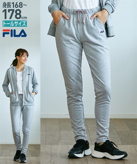 FILA トールサイズ スウェットパンツ 【高身長・長身】【レディーススポーツウェア】Sportswear, ??服, 運動服