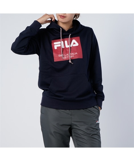 FILA スウェットパーカー 【レディーススポーツウェア】