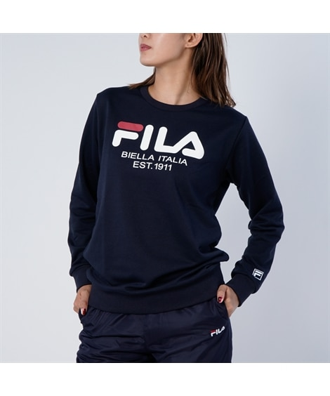 FILA スウェットチュニック 【レディーススポーツウェア】