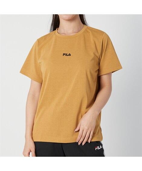 FILA 吸汗速乾。UVカットワンポイントTシャツ 【レディ...