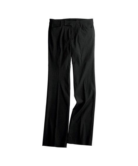 すごく伸びるセミブーツカットパンツ(股下74cm) 【レディース】