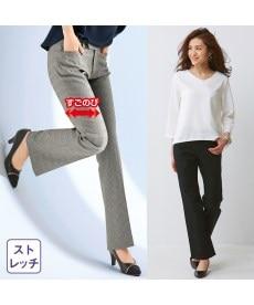 <ニッセン>小さいサイズ すごく伸びるスキニーパンツ(股下64cm)  11