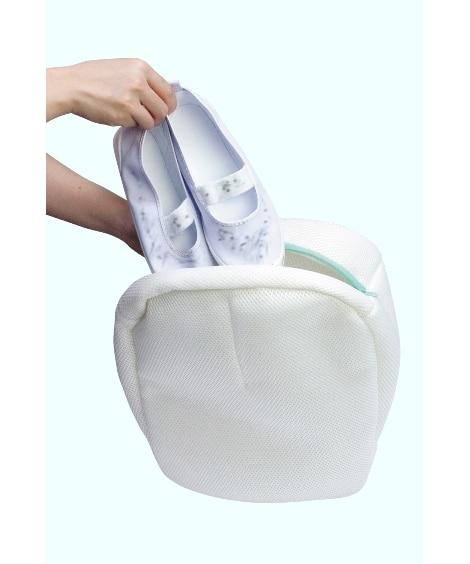 汚れをゴシゴシ靴ピカ洗濯ネット 洗濯ネット・洗濯用品...