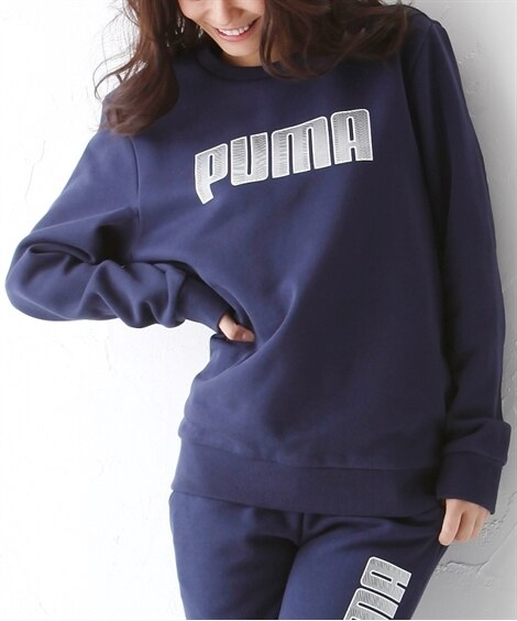 PUMA KAクルーネックスウェット(男女兼用) 【レディー...