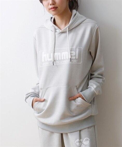 HUMMEL スウェットパーカー(男女兼用) 【レディースス...