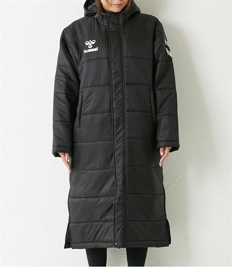 HUMMEL パデットロングコート(男女兼用) 【レディーススポーツウェア】Sportswear