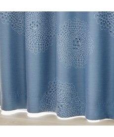 【送料無料!】手書き調フラワー柄遮光カーテン 遮光カーテンの商品画像