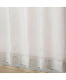 【送料無料!】お星さまボイルレースカーテン(ふしぎのくに) レースカーテン・ボイルカーテンの小イメージ