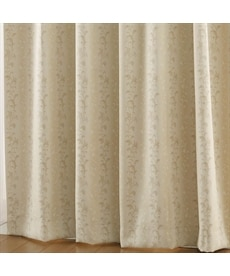 【送料無料!】クラシカルリーフ柄遮光。防炎カーテン 遮光カーテンの小イメージ