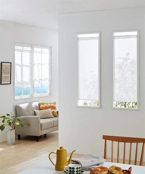 小窓用カフェカーテン のれん・カフェカーテンの写真