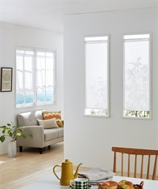 小窓用カフェカーテン のれん・カフェカーテンの商品画像