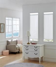 クラシカルフラワー柄。防炎。小窓用カフェカーテン のれん・カフェカーテンの商品画像