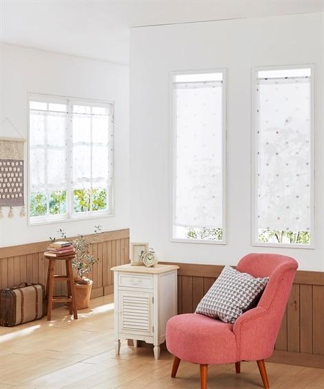 シンプルネコ柄。小窓用カフェカーテン のれん・カフェカーテン, Curtains(ニッセン、nissen)