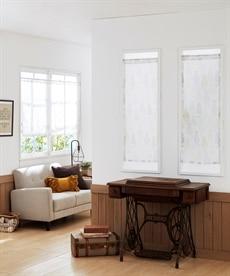 シルエットネコ柄。小窓用カフェカーテン のれん・カフェカーテンの商品画像
