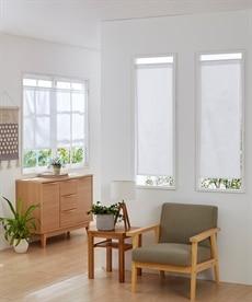 小窓用。防炎。カフェカーテン のれん・カフェカーテンの商品画像