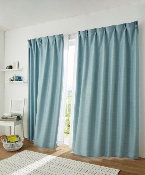 【送料無料!】遮光。遮熱。防炎カーテン 遮光カーテン