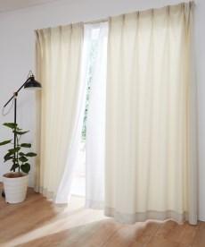 【送料無料!】カジュアルカーテン ドレープカーテン(遮光あり・なし)の小イメージ
