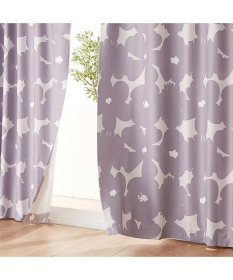 【送料無料!】センス良く映える北欧風フラワー柄遮光カーテン&レースセット カーテン&レースセット, Curtains, sheer curtains, net curtains(ニッセン、nissen)
