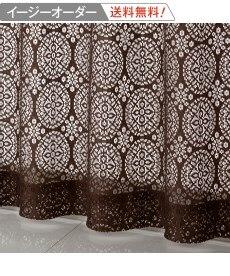 <ニッセン>ドット柄ジャカード織遮熱。防音。99.99%遮光カーテン 遮光カーテン 7