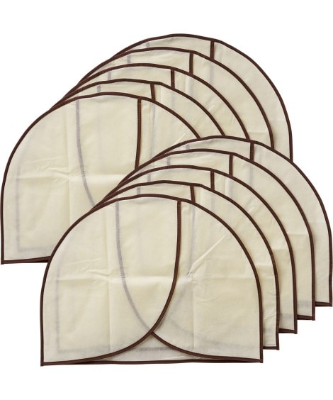 肩のホコリよけカバー10枚組 衣類カバー・圧縮袋