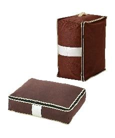 炭入り消臭羽毛布団収納ケース(たて収納) 衣類収納袋・圧縮袋の商品画像