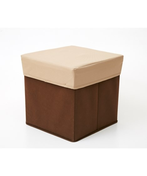 座れる収納ボックス スツール