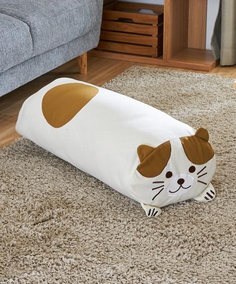 クッションにもなる布団収納袋 ネコ