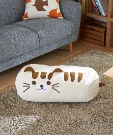 クッションにもなる布団収納袋 ネコ ブラックフォーマルの商品画像