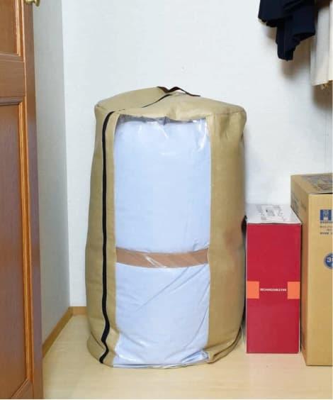 消臭。除湿掛け布団収納袋 衣類カバー・圧縮袋(ニッセン、ni...
