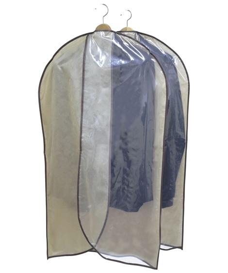 消臭。除湿スーツカバー 2枚組 衣類カバー・圧縮袋...