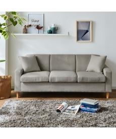 カラーが選べる3人掛けソファー ソファーの商品画像