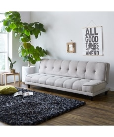 3段階リクライニングソファーベッド ソファーの商品画像