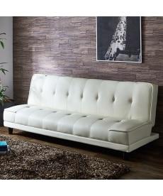 リクライニング合皮ソファーベッド ソファーの小イメージ