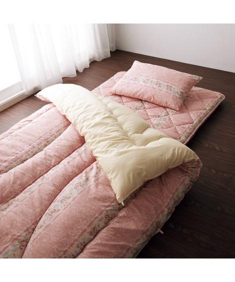 【日本製】防ダニ。抗菌防臭。フランス産羊毛混布団セットの写真