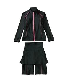 <ニッセン> レーストリミングリブ編ニットカーディガン (ニット・セーター)(レディース)Knitting 27