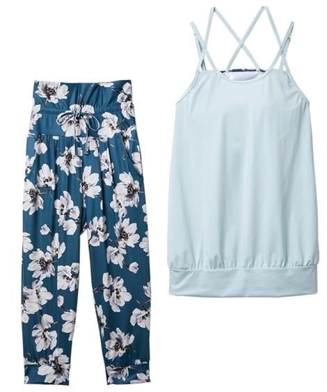 【citta room】水陸両用ブラ一体型キャミ&ボトム2点セット ヨガウェア, Yoga, Yoga wears