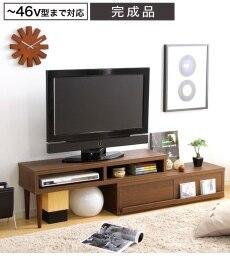 <ニッセン>回転。伸縮 自由自在のTVボード テレビ台画像