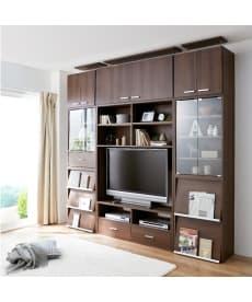 組み合わせ自由自在の壁面収納家具 テレビ台の小イメージ