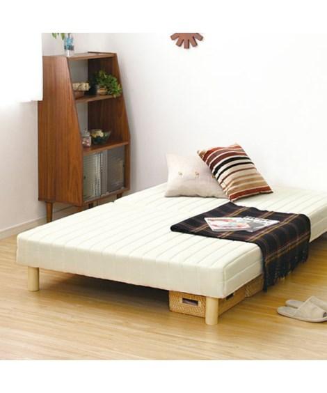 運びやすい脚付マットレスベッド 脚付きマットレスベッド...