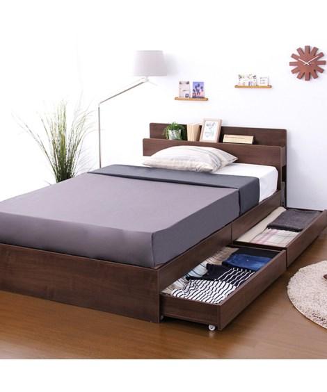 照明。宮。収納付ベッド 収納付きベッド