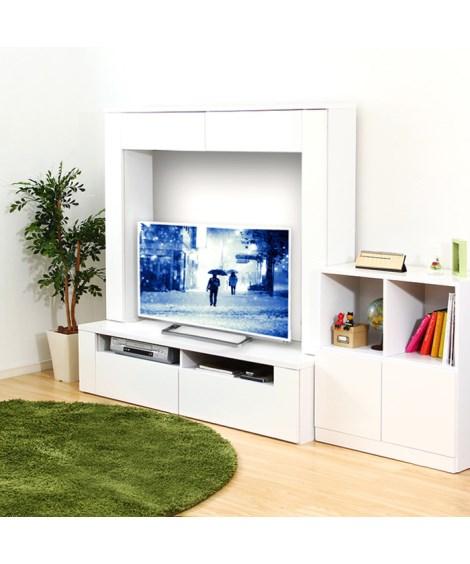 鏡面テレビ台ハイタイプ テレビ台, TV stands(ニッ...