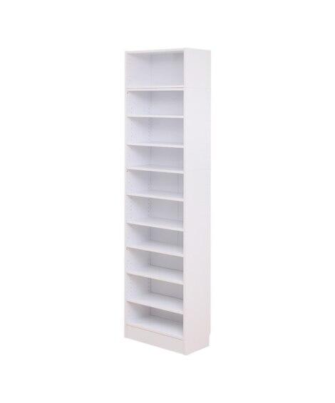 天井突っぱり本棚。壁面収納 書棚・本棚・ブックシェルフ...