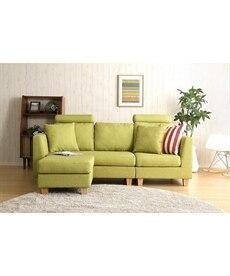 ヘッド付カウチソファー カウチ・コーナーソファー(ニッセン家具)の商品画像