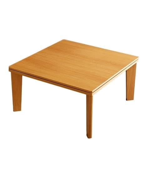 リバーシブル天板の布団付カジュアルこたつセット ローテーブル...