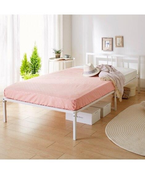シンプルパイプベッド ベッド