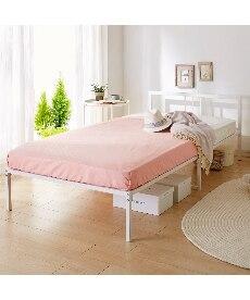 シンプルパイプベッド ベッドの商品画像