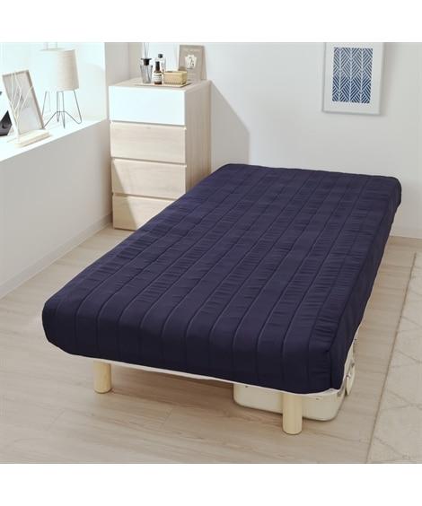 脚付ボンネルコイルマットレスベッド 脚付きマットレスベッド,...