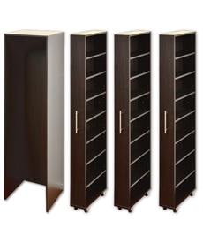 すき間収納ラック【幅35cm。50cm】 書棚・本棚・ブックシェルフの商品画像