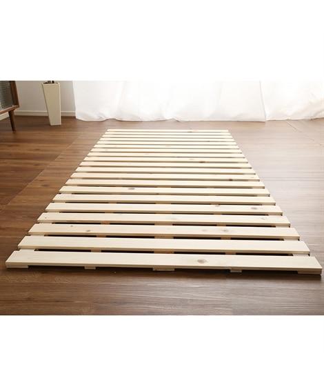 ひのきすのこベッド(ロール式) すのこベッド・畳ベッドの写真