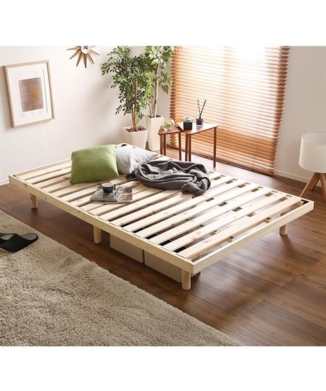 高さが変えられるひのきすのこベッド すのこベッド・畳ベッド,...